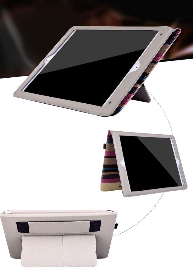 iPad Pro 12.9 Case Cheap Leather Cover for sale Purple E