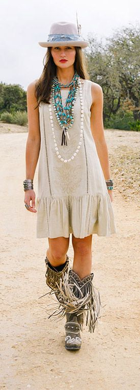 Boho style, not the boots