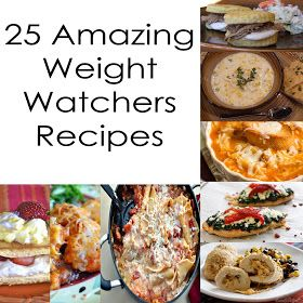 25 Amazing Weight Watchers Recipes
