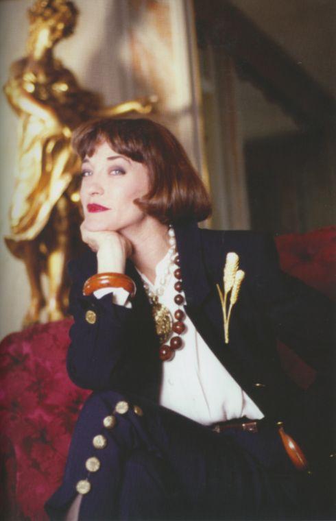 Lou Lou de La Falais, Yves St Laurent's muse.