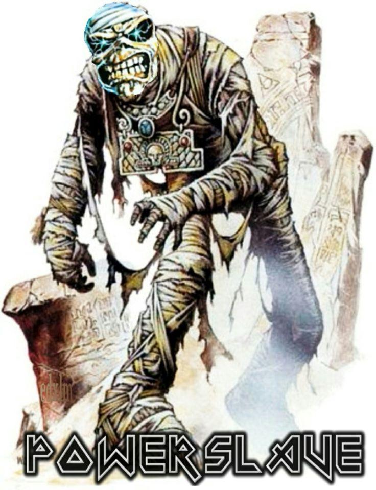17 Best Ideas About Iron Maiden Powerslave On Pinterest