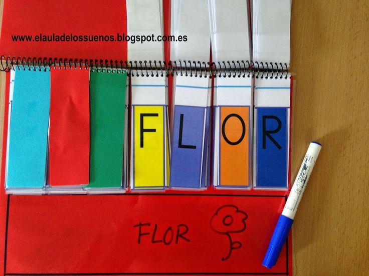 Libro m vil de letras para formar palabras lecto for Carrelage 7 5 x 15