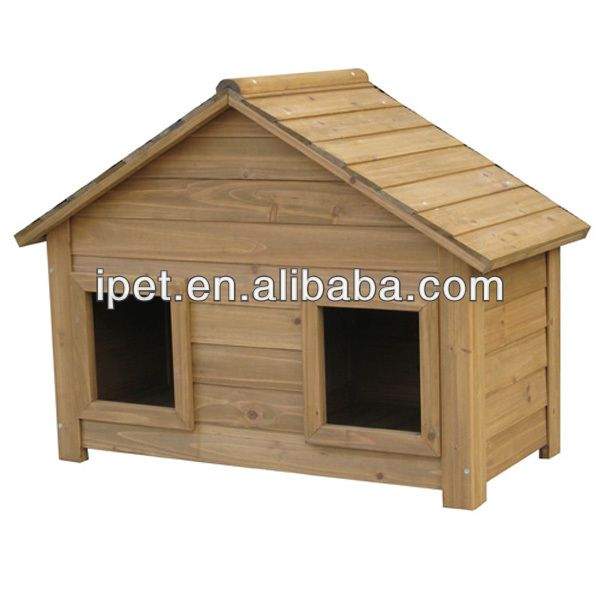 dog cage pet house 1.Natural fir wood dog house 2.Water proof with fixed felt roof 3.Cozy place for your pets 4.Two doors
