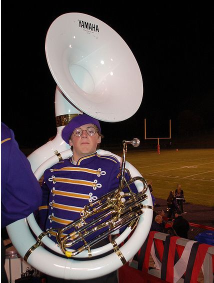 You would NEVER call this a tuba | 16 Reasons Why Band Geeks Rule