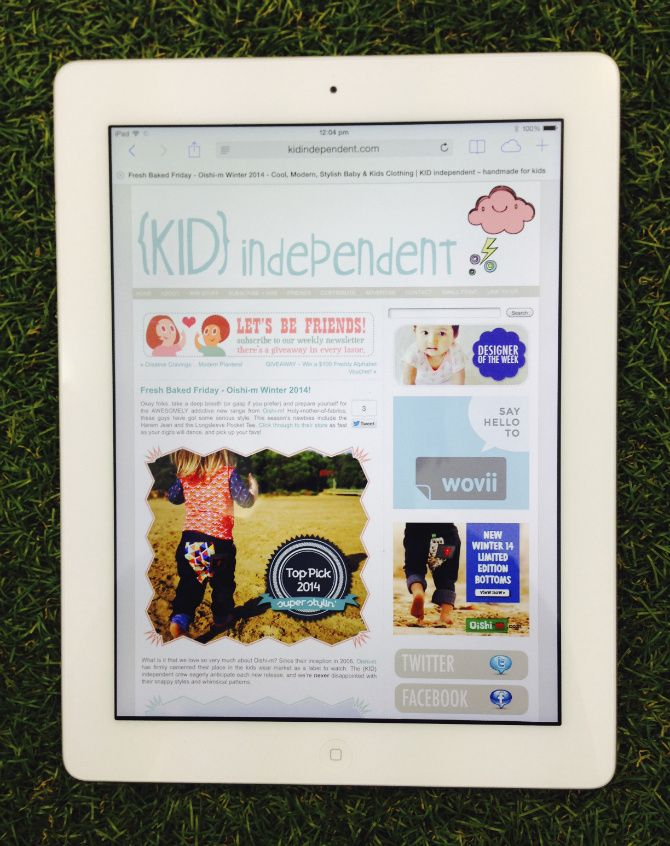 Kid Independent Blog