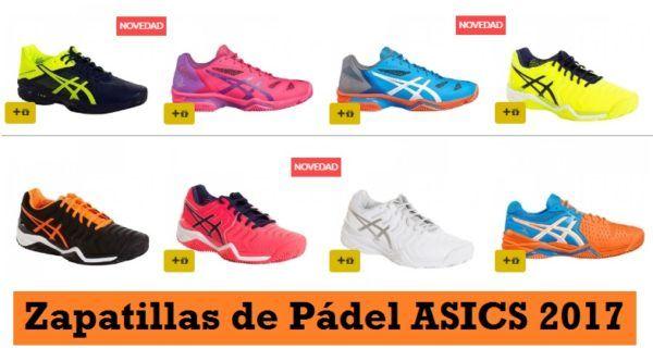 Zapatillas ASICS Pádel más BARATAS ¡OFERTAS! | Asics padel ...