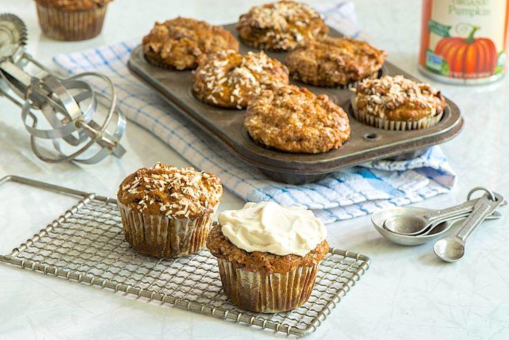 **Pumpkin bran muffins  with all bran buds** Healthy ADD DATES