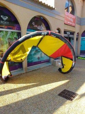 Aile Kite Best Kiteboarding ROCA 2016