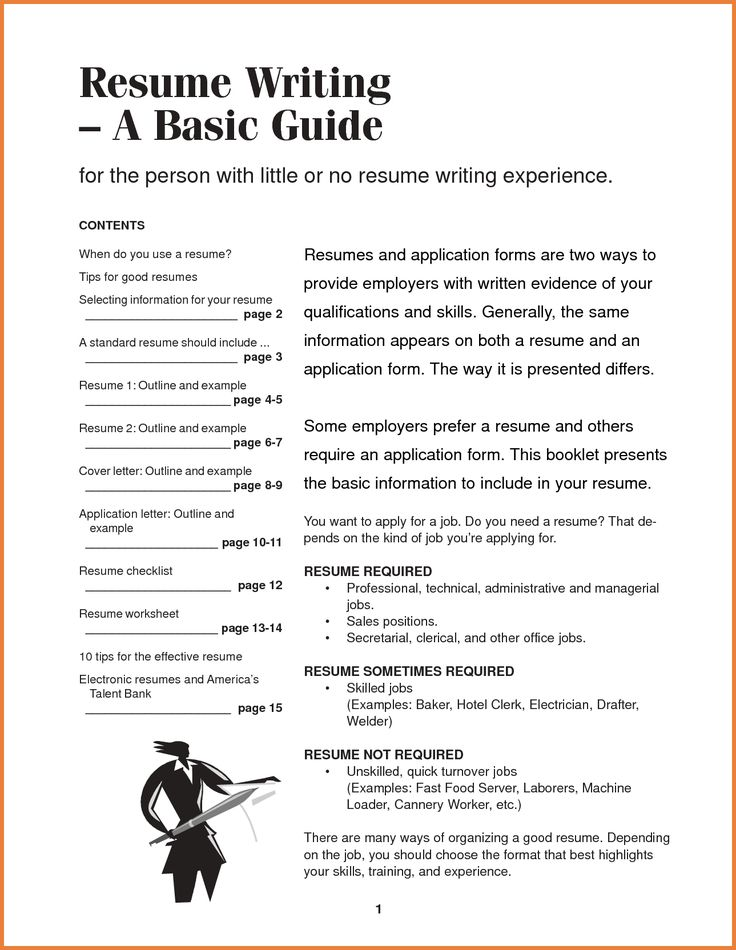 Format For Writing Resume | Resume Format And Resume Maker