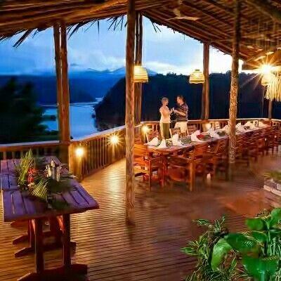 Tufi Resort in Oro Province, Papua new Guinea