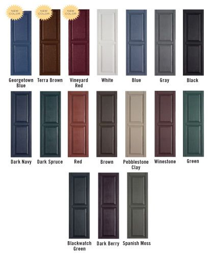 Best 25+ Exterior shutter colors ideas on Pinterest