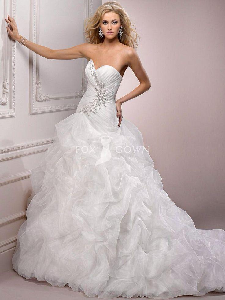 19 besten Wedding dress Bilder auf Pinterest | Hochzeitskleider ...