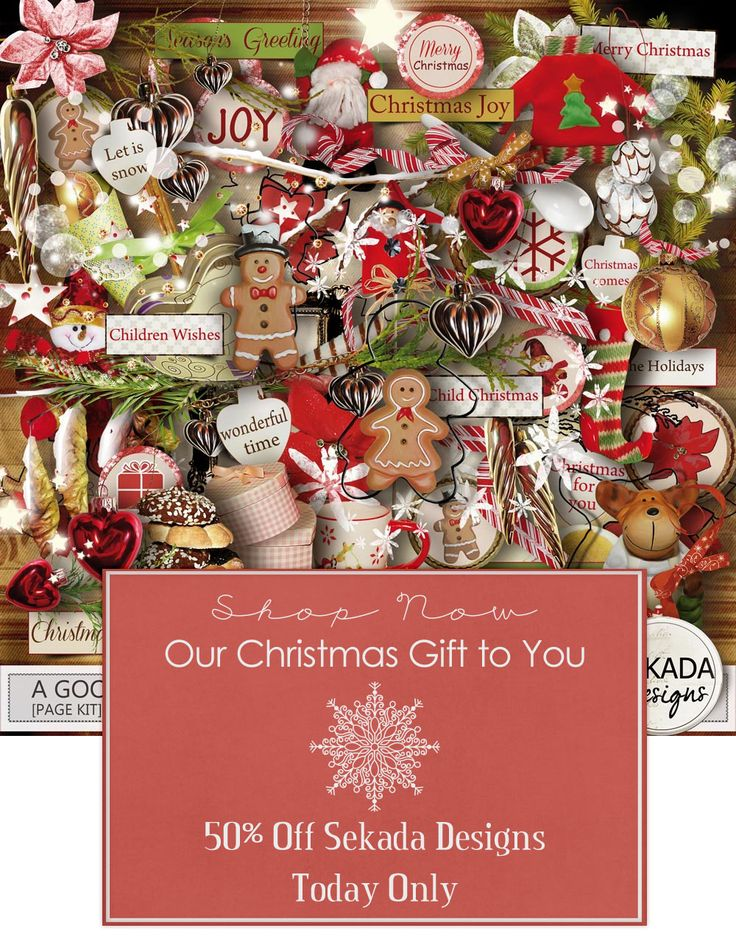 Sekada Designs Advent Special 50% Off today only!