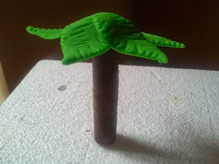 Centomilaidee: Come fare un albero di palma in pdz