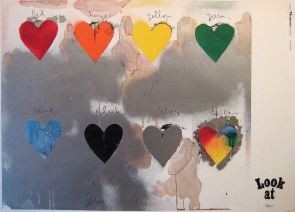 """Jim Dine """"Look At"""" Gallerie Thomas Munchen Lithographie « Gallery ..."""