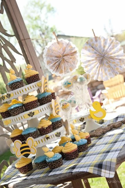 Rubber Duckies And Bees Baby Shower