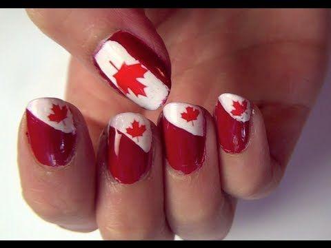 Canada Day Nail Tutorial ❚❤❚