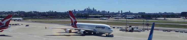 Coming home on a Qantas A380. Thanks for the great service and business seat upgrades!