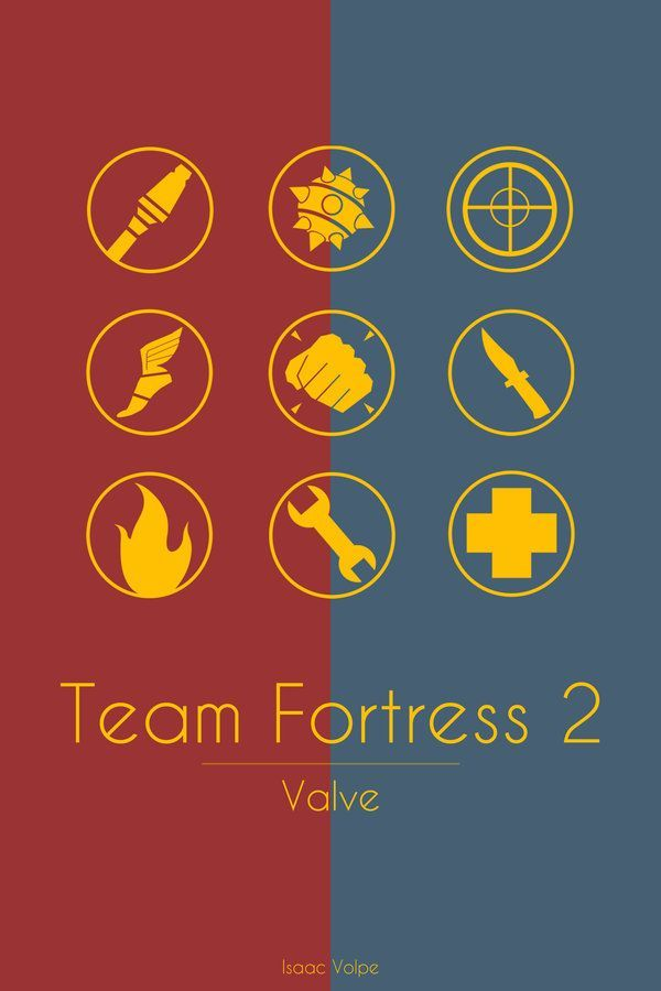 Team Fortress 2 by Isaac-Volpe.deviantart.com