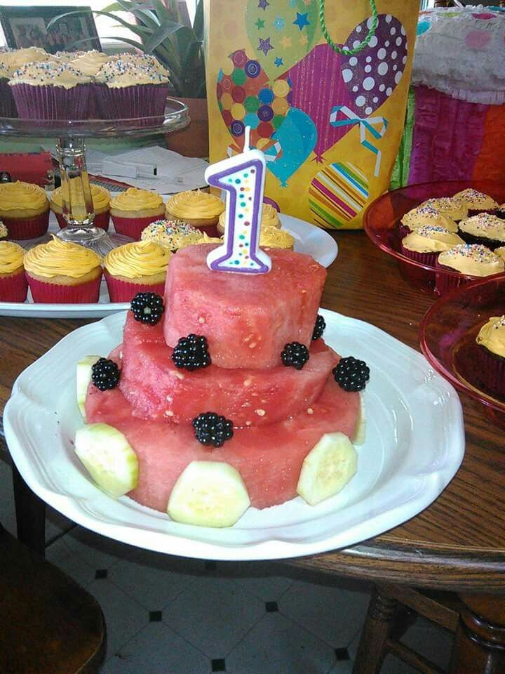 Birthday cake idea for an FPIES baby