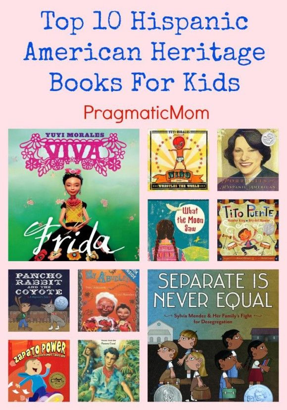 Top 10 Hispanic American Heritage Books For Kids and GIVEAWAY! :: PragmaticMom