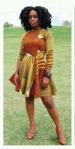 Stylish Ankara Short Dress Styles
