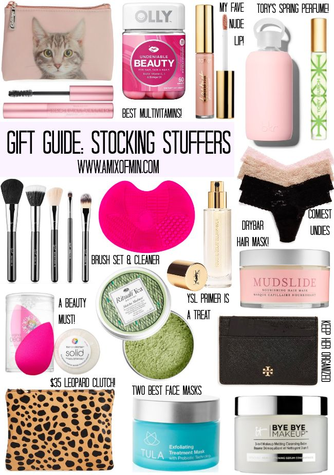 A Mix of Min rounds up all the girly girl stocking stuffer essentials gift guide.