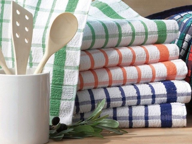 Отстирываем кухонные полотенца любой сложности 0
