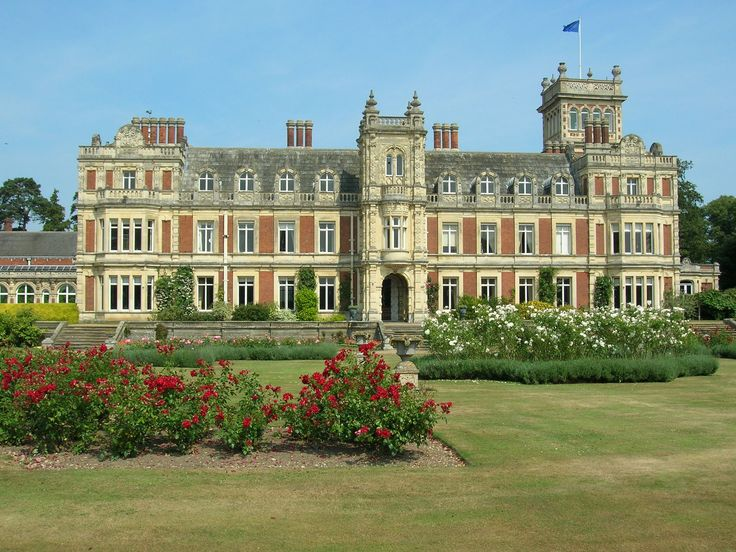 Somerleyton Hall, near Lowestoft, Suffolk, England.  Established 1240, the current manor house was constructed in 1604.