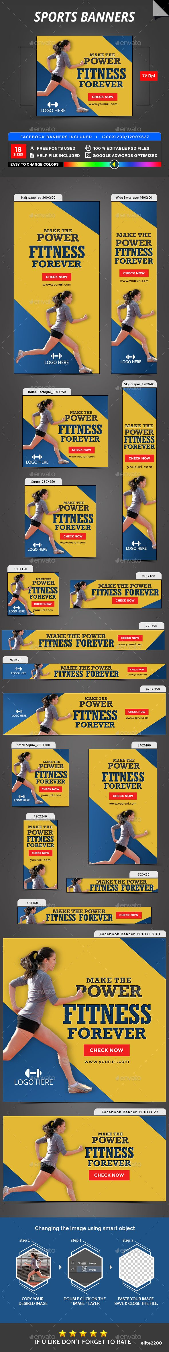 Sports Banners - Banners & Ads Web Elements Download here : https://graphicriver.net/item/sports-banners/19753903?s_rank=149&ref=Al-fatih