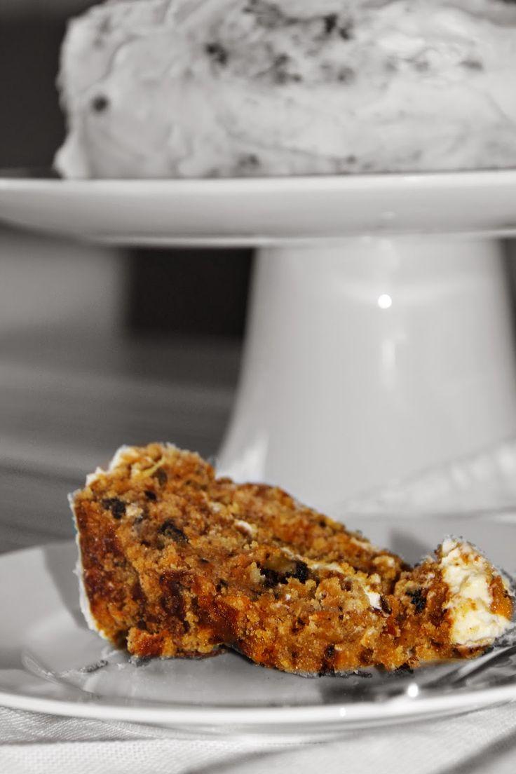 Torta de zanahoria/ Carrot cake