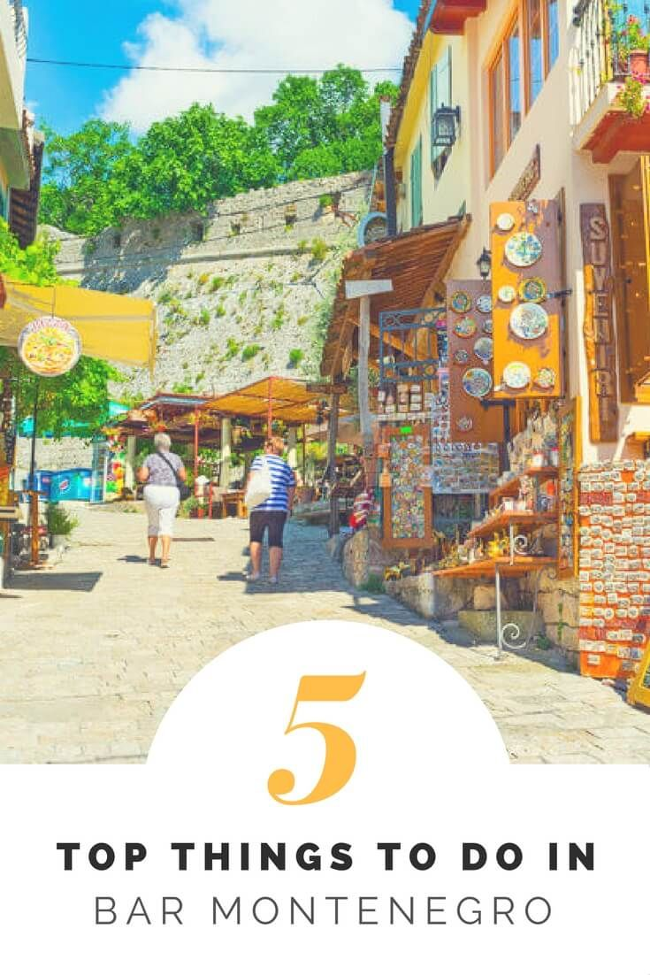 Discover the top 5 things to do in Bar, Montenegro as well as the best places to stay and eat. Explore like a local!