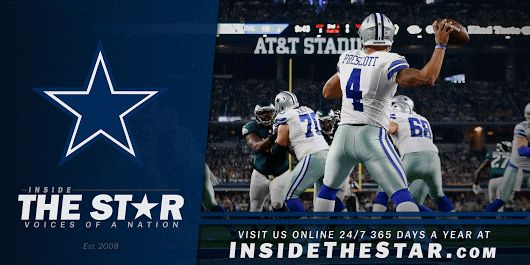 Inside The Star ✭ Blogging Dallas Cowboys Football