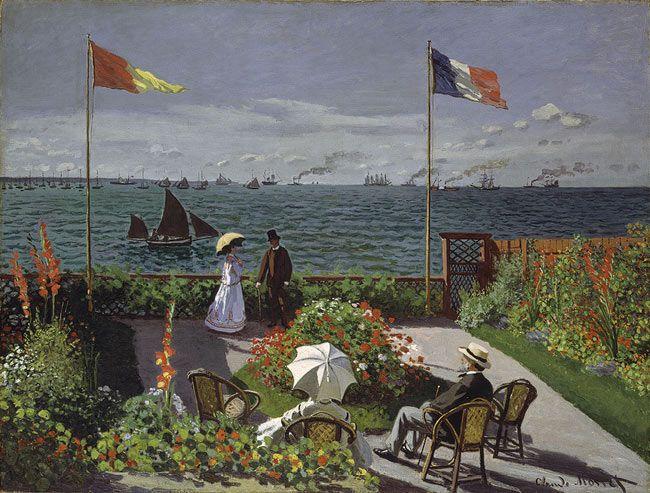 Claude Monet: Garden at Sainte-Adresse (67.241)
