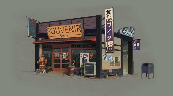 The Best Video Game Art Of 2014 Is A Treat For The Eyeballs: Sunset Overdrive - Vasili Zorin