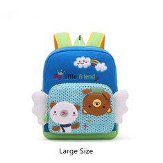 #Banggood 1-6 лет дети прекрасный мультфильм рюкзак хлопка креп мягкий сейф школьная сумка (1097357) #SuperDeals