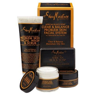 SheaMoisture African Black Soap Acne Care Kit -$19.99  * Must Try