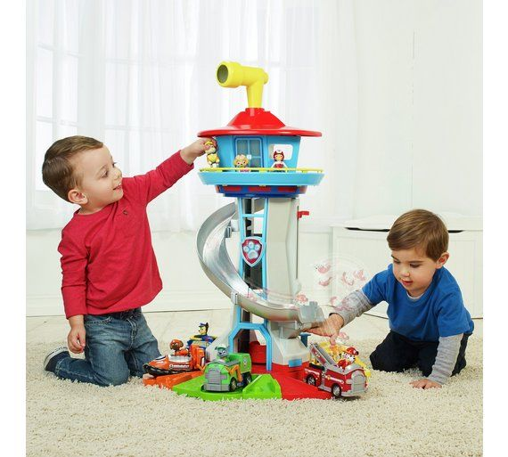 Buy PAW Patrol My Size Lookout Tower Playset at Argos.co.uk, visit Argos.co.uk to shop online for Action figures and playsets, Toys