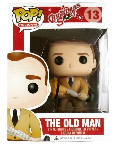 Funko Pop Movies A Christmas Story The Old Man Vinyl