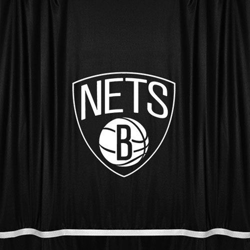 NBA Brooklyn Nets Shower Curtain 72 x 72 Black >>> You can get additional details at the image link.