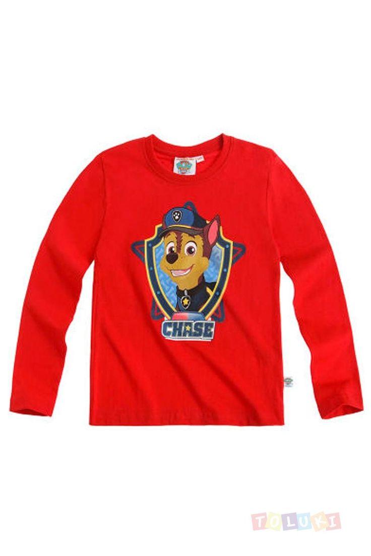 T-shirt Pat Patrouille Chase le chien policier | Même plus peur dans la cour de récré ;) https://www.toluki.com/prod.php?id=1427 #Toluki  rentrée scolaire, fournitures et vêtements. D'autres modèles sont disponibles dans notre boutique en ligne