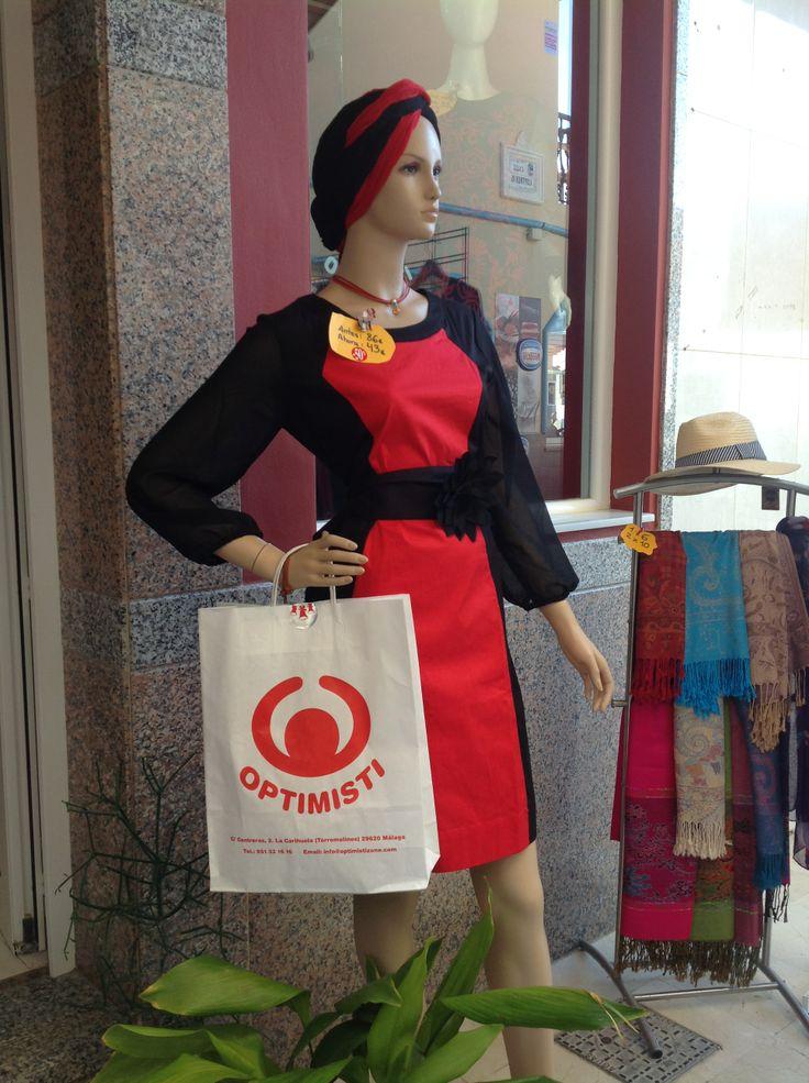 Colección Almatrichi invierno 2013 en Optimisti Carihuela (Torremolinos) Malaga