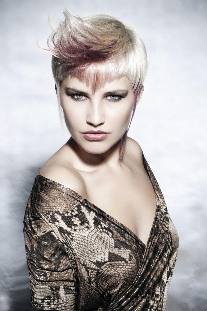 Best 25+ Short white hair ideas on Pinterest   White ...