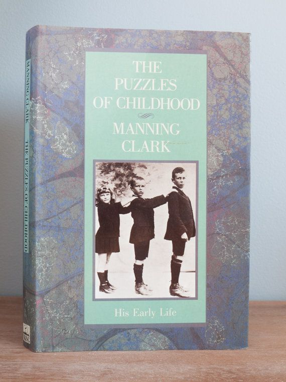 Vintage book: 'The Puzzles of Childhood' by by freshdarling