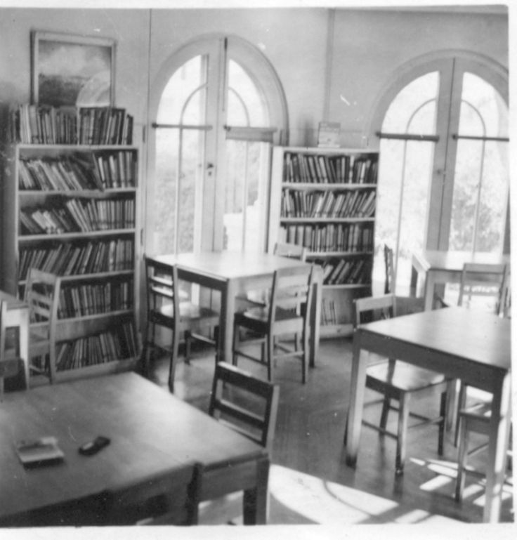 MP 17255. Toorak Teachers' College library, 1953-1954.