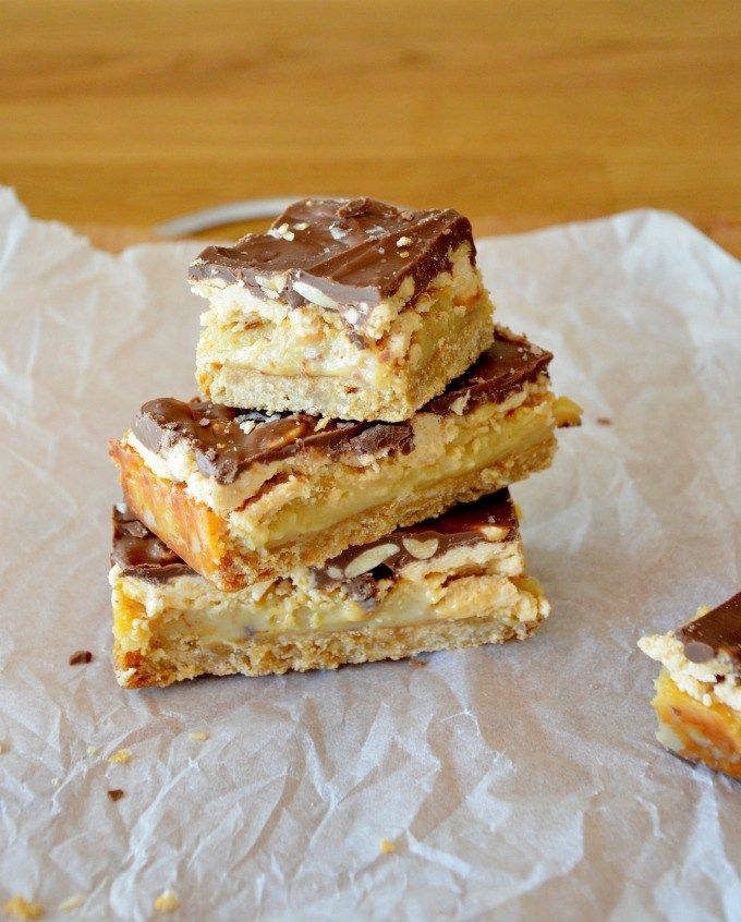 The Ultimate Snickers Slice Four layers of pure heaven!