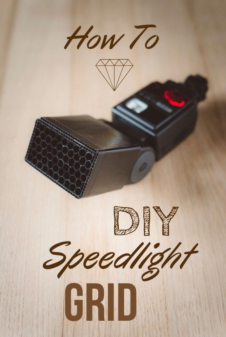 This article tells you how to make a honeycomb grid for your speedlight out of straws. It's great for photographers on a budget who need decent lighting in a pinch.