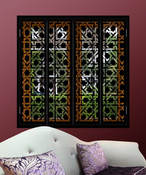 The 7 best images about arabian and moroccan window for Interior window shutter designs