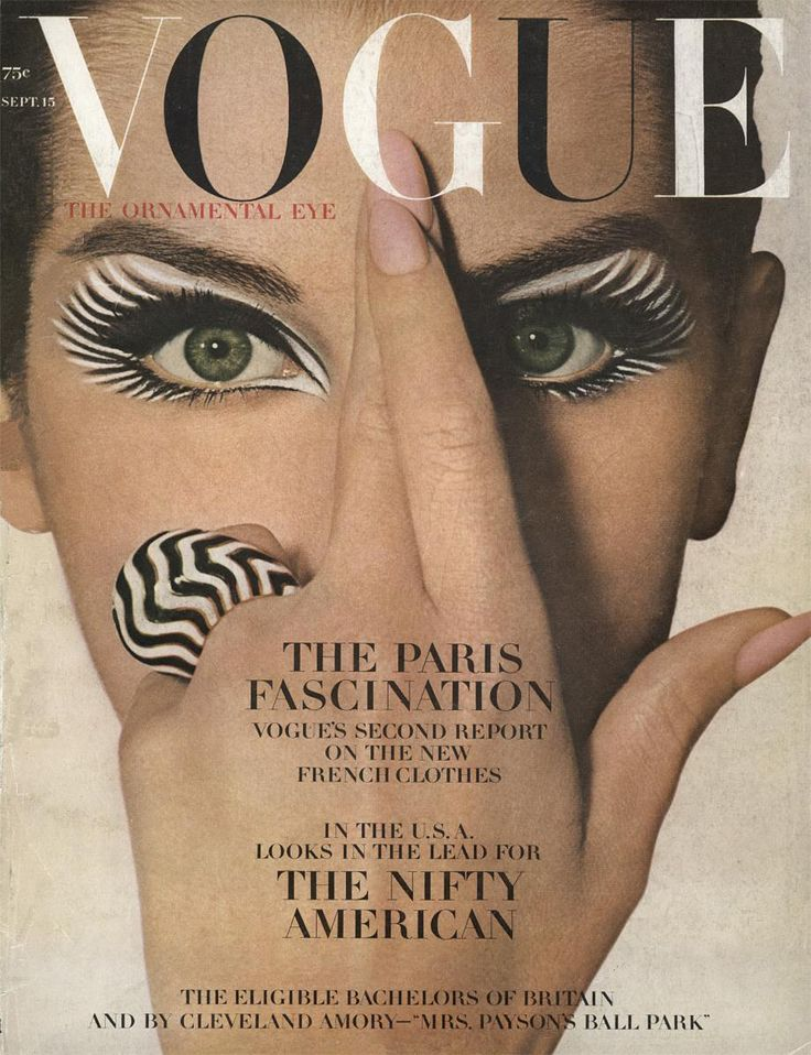 Vogue cover  1964    Photographed by Irving Penn