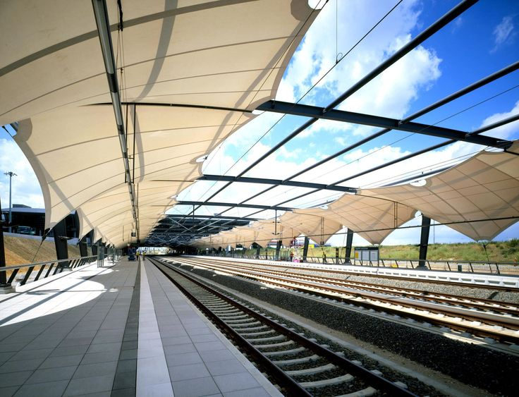 Walkways or Canopy?  Both options are created byTensile Fabric